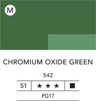 L&B Flashe Acrylic 80ml 542 Chromium Oxide Green