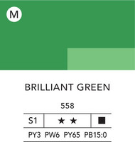 L&B Flashe Acrylic 80ml 558 Brilliant Green