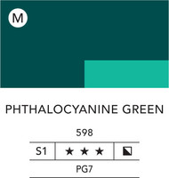 L&B Flashe Acrylic 80ml 598 Phthalocyanine Green