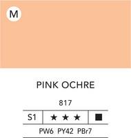 L&B Flashe Acrylic 80ml 817 Pink ochre