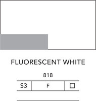 L&B Flashe Acrylic 80ml 818 Fluorescent white