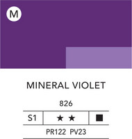 L&B Flashe Acrylic 80ml 826 Mineral Violet