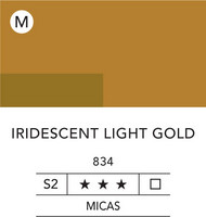 L&B Flashe Acrylic 80ml 834 Light Gold Iridescen