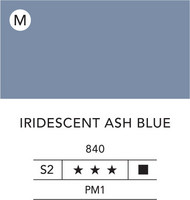 L&B Flashe Acrylic 80ml 840 Ash blue iridescent