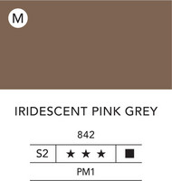 L&B Flashe Acrylic 80ml 842 Pink grey iridescent