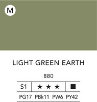 L&B Flashe Acrylic 80ml 880 Light Green Earth