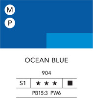 L&B Flashe Acrylic 80ml 904 Ocean Blue