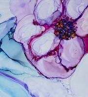 Marabu Alcohol Ink set Flowers + tussi
