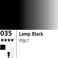 DR Aquafine Gouache 035 15ml Lamp Black