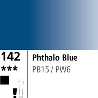 DR Aquafine Gouache 142 15ml Phthalo Blue