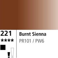 DR Aquafine Gouache 221 15ml Burnt Sienna