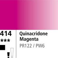 DR Aquafine Gouache 414 15ml Quinacridone Magenta
