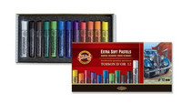 Kohinoor Toison artist extrasoft pastel 12 kuivaliitua