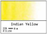 White Nights akvarellinappi 228 Indian Yellow