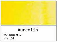 White Nights akvarellinappi 253 Aureolin