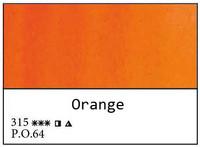 White Nights akvarellinappi 315 Orange