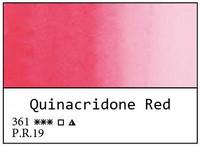 White Nights akvarellinappi 361 Quinacridone Red