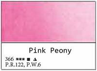 White Nights akvarellinappi 366 Pink Peony