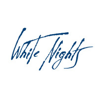 White Nights akvarellinappi 515 Blue