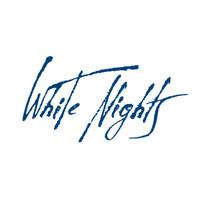 White Nights akvarellinappi 801 Lamp Black