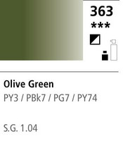FW Acrylic ink 29,5ml 363 Olive green