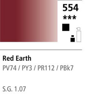 FW Acrylic ink 29,5ml 554 Red earth