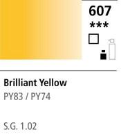FW Acrylic ink 29,5ml 607 Brilliant yellow