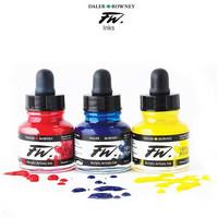 FW Acrylic ink 29,5ml 653 Fluorescent orange