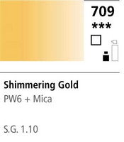 FW Acrylic ink 29,5ml 709 Shimmering gold