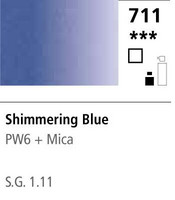 FW Acrylic ink 29,5ml 711 Shimmering blue