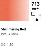 FW Acrylic ink 29,5ml 713 Shimmering red