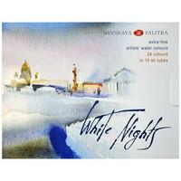 White Nights akvarellituubit 24x10ml
