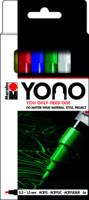 Marabu YONO Marker set 6 x 0.5-1.5 mm