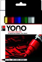 Marabu YONO Marker set 6 x1.5-3 mm