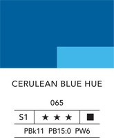 L&B Fine Acrylic 80ml 065 Cerulean blue hue