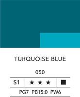 L&B Fine Acrylic 80ml 050 Tuqouise blue