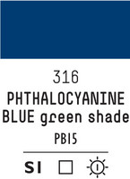 Liq Heavybody 59ml phthalo blue green shade 316