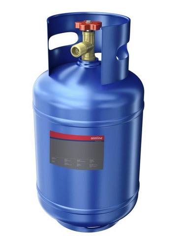 Kylmäainetäyttö huollon yhteydessä
