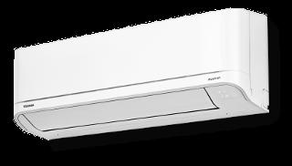 Toshiba Optimum 25 ilmalämpöpumppu asennettuna