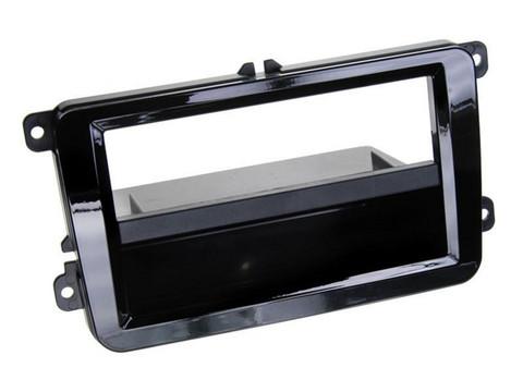 VW/Skoda/Seat (useita malleja) asennuskehys 2DIN kiiltävä musta