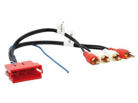 Audi aktiiviadapteri BOSE-4x RCA-mini-ISO