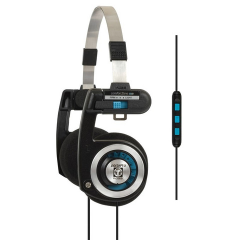 KOSS PortaPro KTC On-Ear Mic Black