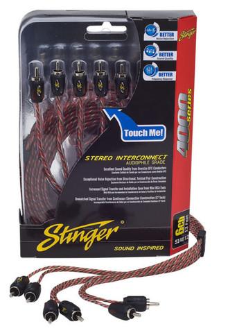 Stinger RCA-kaapeli 6-kanavainen 5,1m