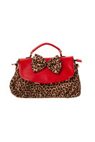 Red Leopard Shoulder Bag