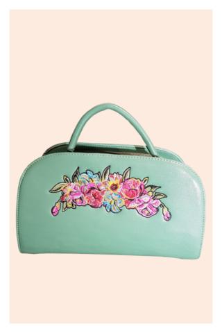 Vintage Flowers Handbag