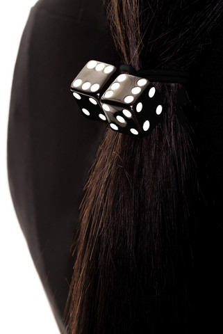 Black Dice Head Band