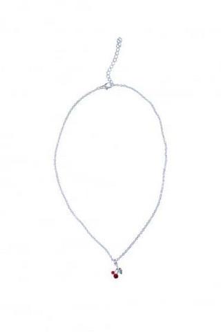 Diamante Cherry Necklace