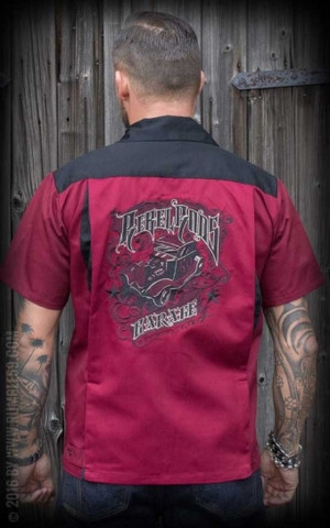 Bowling Shirt Rebel Rods