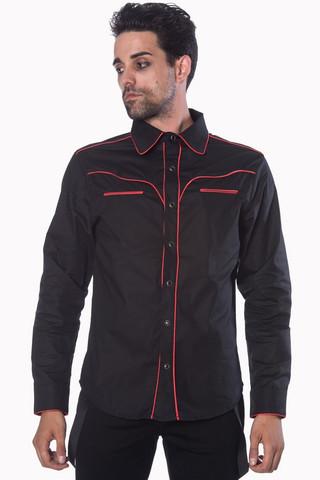 Plain Trim Shirt