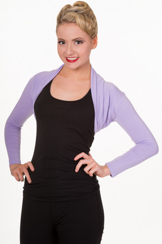 Folded Bolero Lavender